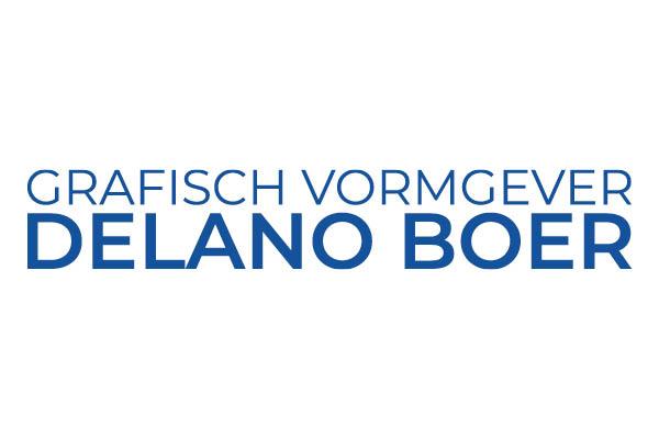 Grafisch vormgever Delano Boer
